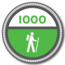 1000 Hiking Miles | 100 Alabama Miles Challenge