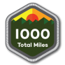 1000 Total Miles | 100 Alabama Miles Challenge