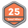 25 Total Miles | 100 Alabama Miles Challenge