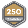 250 Total Miles | 100 Alabama Miles Challenge